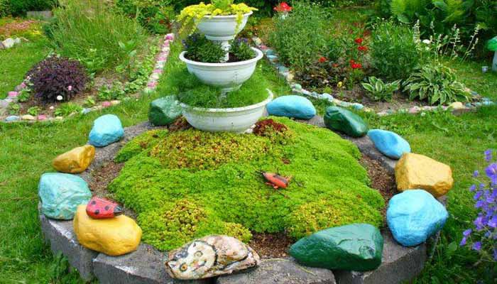 5 Creative Ways to Use Stone in the Garden